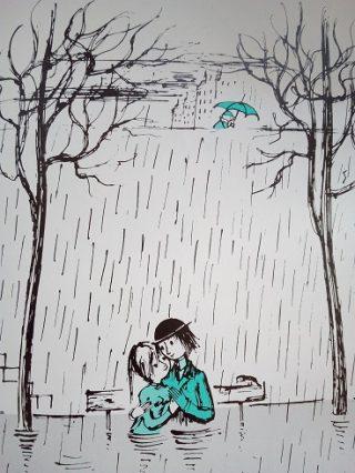 「雨ですね」とフランス語ではどう言う?雨が降る時の天気の会話例