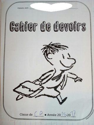 フランスの小学校は宿題少ない?それとも多い?連絡帳から覗いて見たら