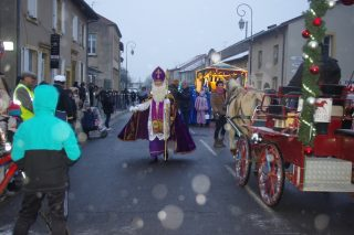 サンタクロースの起源のセントニコラスの祭りに参加したよ!