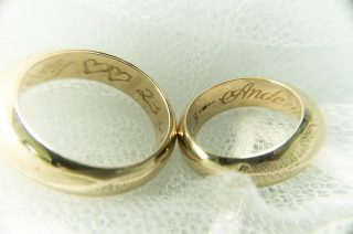 結婚指輪の刻印をフランス語で刻む?現地で人気の文章はこれでした!